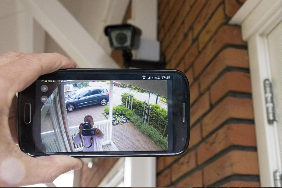 Retour image d'une caméra de surveillance